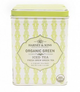 Organic Green with Citrus & Ginkgo Iced Tea ❄ Mrożona herbata┃Harney&Sons