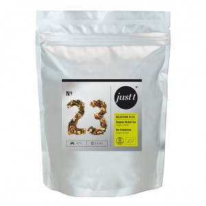 Bio Ginger Lemon Just Tea ≼No.23≽ Liściasta herbata ▸140gram
