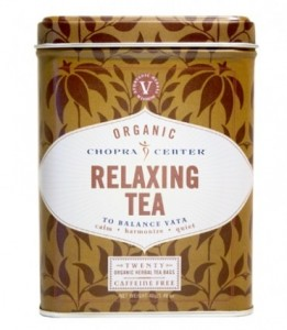Organic Relaxing Chopra Tea - piramidka, 1 szt.