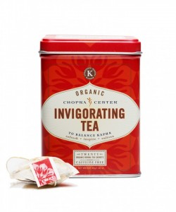 Organic Invigorating Chopra Tea- piramidka, 1 szt.