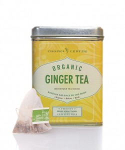 Organic Ginger Chopra Tea - piramidka, 1 szt.