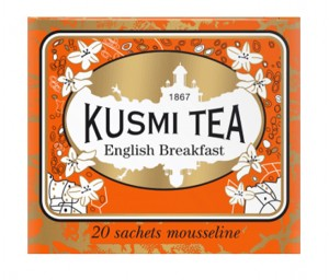 English Breakfast Kusmi Tea❖ Muślinowe saszetki ▸ 20 szt.