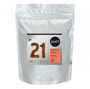 Rooibos Strawberry Just Tea ≼No.21≽ Liściasta herbata ▸150gram