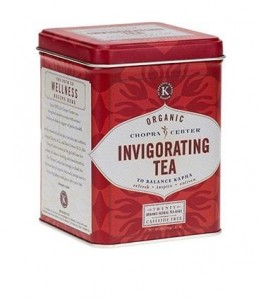 Organic Invigorating Chopra Tea - piramidy, 20 szt.